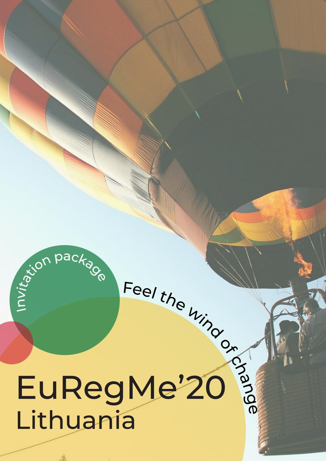 EuRegMe 2020 Lithuania
